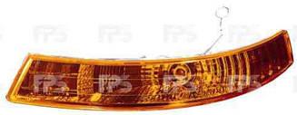 Правый указатель поворота Опель Виваро 01-07 желтый (под фарой) без патрона / OPEL VIVARO I (2001-2014)