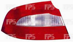Правый задний фонарь Шкода СуперБ 3T 09-13, кузов седан, внешний, без патронов / SKODA SUPERB 3T (2009-)