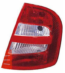 Левый задний фонарь Шкода Фабиа 99-05, кузов HB, без платы / SKODA FABIA (1999-2007)