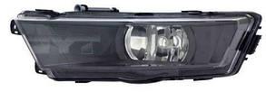 Левая фара противотуманная Шкода Рапид под лампу h8 без лампы / SKODA RAPID (2012-)