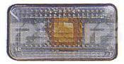 Левый (правый) прямоугольный белый указатель поворота Сиат Толедо 91-99 / SEAT TOLEDO (1991-1999)