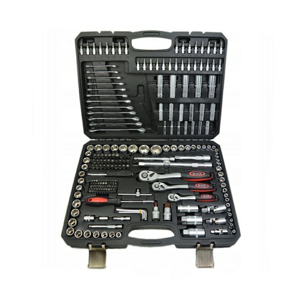 Набор головок ключей инструментов  BOXER 216 ед