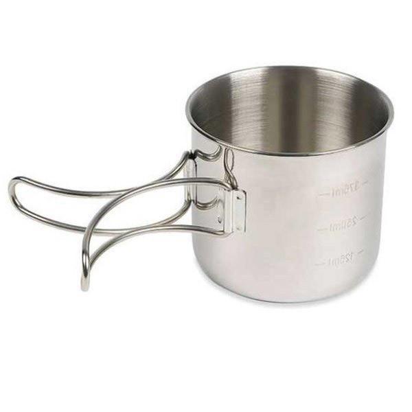 Кружка 500мл со складными ручками и мерной шкалой Tramp Cup