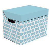 Global-Pak (Польша) Ящик для хранения картонный ONE голубая мальва 2437.52