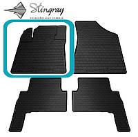Kia Sorento 2009-2012 Водительский коврик Черный в салон