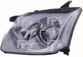 Левая фара Тойота Авенсис 03-06 h7+h1 электро регулировка / TOYOTA AVENSIS (2003-2008)