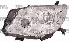 Левая фара Тойота Прадо J150 10-13 электро регулировка h11+hb3+wy21w+w5w / TOYOTA LAND CRUISER PRADO J150 (2010-)