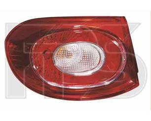 Левый задний фонарь Вольксваген Тигуан 07-11, внешний, без ламп / VOLKSWAGEN TIGUAN (2007-2016)