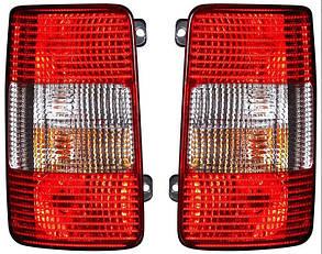 Левый задний фонарь Вольксваген Кадди 04-10, кузов 1/2 двери (в комплекте с универсальными крепежами), без платы / VOLKSWAGEN CADDY (2004-2015)