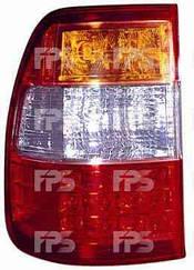 "Левый задний фонарь Тойота Ланд Крузер J100, с 2005 года, внешний, ""LED"" / TOYOTA LAND CRUISER J100 (1998-2008)"