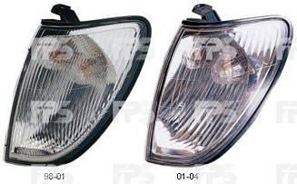 Левый указатель поворота Тойота Ланд Крузер J100 год 2001-2004 без патрона / TOYOTA LAND CRUISER J100 (1998-2008)