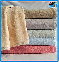 Упаковка жаккардовых полотенец 70х140 см.