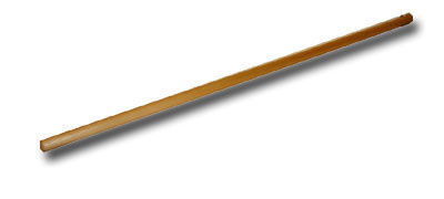 Палка гимнастическая деревянная 150 см