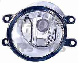 Левая фара противотуманная Тойота Авенсис 09-16 без лампы / TOYOTA AVENSIS (2009-)