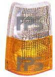 Левый указатель поворота Вольво 740 бело-желтый (europa) год 1984-1987 без патрона / VOLVO 740/760