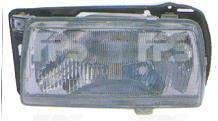 Левая фара Вольксваген Жетта II с рамкой (механическая регулировка) / VOLKSWAGEN JETTA II (1984-1992)