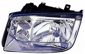 Левая фара Вольксваген Бора 98-05 электрическая-механическая регулировка без противотуманки / VOLKSWAGEN BORA (1999-2005)