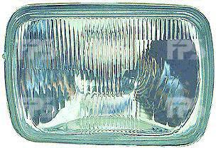 Левая (правая) фара Ниссан Патрол -97 прямоуг. 142x200 h4 (без габарита) без рамки / NISSAN PATROL (1981-1997)