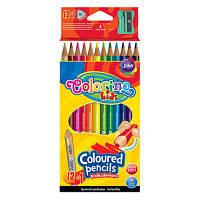Олівці кольорові трикутні Colorino 12 кольорів (54706PTR)