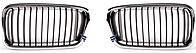 Левая решетка БМВ 7 E38 в капоте 730/740 (99-02) (подходит для 94-99) / BMW 7 E38 (1994-2002)