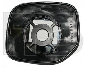 Правый вкладыш зеркала Пежо Партнер -07 без обогрева выпуклый / PEUGEOT PARTNER (1997-2002)