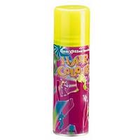 Цветной спрей для волос FLUO желтый, 125 мл
