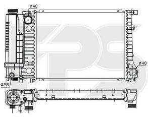 Радиатор БМВ 3 E36 / BMW 3 E36 (1990-2000)