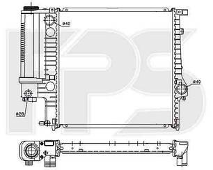Радиатор БМВ 3 E30 / BMW 3 E30 (1982-1991)