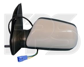 Правое зеркало Чери Амулет электрический привод, без обогрева, выпуклое / CHERY AMULET (2003-2011)