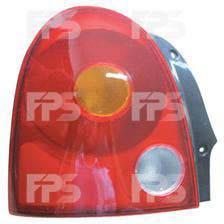 Левый задний фонарь на крыле с патронами, без ламп Чери QQ 03-13 / CHERY QQ (2003-2013)
