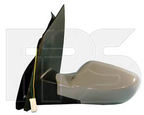 Правое зеркало Чери Кимо механический привод, без обогрева, выпуклое / CHERY KIMO (2006-2013)