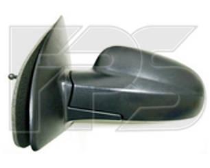 Левое зеркало Шевролет Авео T200 электрический привод; с обогревом; текстура; выпуклое / CHEVROLET AVEO T200 (2004-2006)