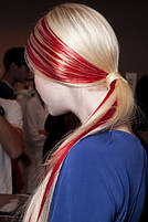 Кольоровий спрей для волосся FLUO червоний, 125 мл, фото 2