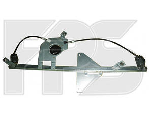 Правый стеклоподъемник передней двери (без панели) Пежо Партнер (2008-2012) -мотор / PEUGEOT PARTNER (2008-2012)