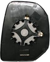 Правый вкладыш зеркала Ситроен Берлинго -12 с обогревом выпуклый / CITROEN BERLINGO (2008-2012)