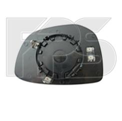 Левый вкладыш зеркала Пежо 301 с обогревом выпуклый / PEUGEOT 301 (2013-2016)