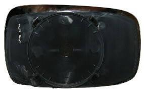Левый вкладыш зеркала Форд Мондео -96 с обогревом выпуклый / FORD MONDEO I (1993-1996)