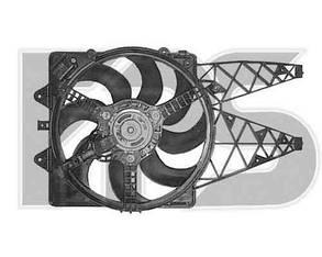 Вентилятор в сборе Фиат Гранд Пунто 05- / FIAT GRANDE PUNTO