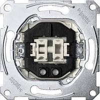 Механизм выключателя 2-кл. с подсветкой Merten MTN3135-0000
