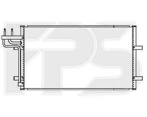 Радиатор кондиционера Форд Фокус 05-10 / FORD FOCUS II (2005-2008)
