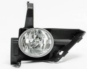 Левая фара противотуманная Хонда ЦРВ с 2004 года без лампы / HONDA CRV (2002-2006)