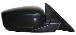 Левое зеркало Хонда Аккорд 08-10 АМЕРИКА электрический привод; с обогревом; плоское / HONDA ACCORD 8 (2008-)