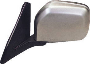 Правое зеркало Митсубиши Пажеро 91-99 ручной привод; без обогрева; хромированное; выпуклое / MITSUBISHI PAJERO WAGON II (1991-1999)