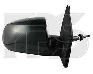 Правое зеркало Киа Рио -11 механический привод; без обогрева; выпуклое / KIA RIO (2005-2011)