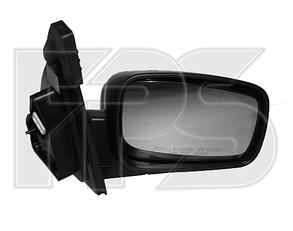 Правое зеркало Киа Соренто 06-09 электрический привод; с обогревом; глянец; выпуклое / KIA SORENTO (2002-2009)