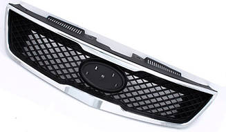 Решетка Киа Спортейж 10- хром-черная / KIA SPORTAGE (2010-)