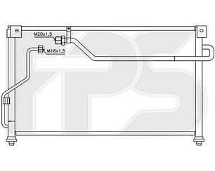 Радиатор кондиционера Мазда 626 92-97 (GE) седан/хечбек / MAZDA 626 (1992 -1997)