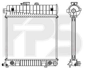 Радиатор Мерседес 208 97-03 (C208-CLK) / MERCEDES CLK W208 (1997-2003)