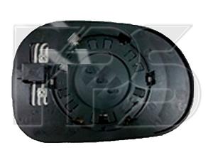 Левый вкладыш зеркала Мерседес 163 -05 с обогревом асферический -02 / MERCEDES ML-Class W163 (1997-2005)