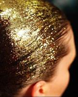 Цветной спрей для волос GLITTER золотой, 125 мл, фото 2
